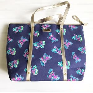 Lilly Pulitzer || Limited Edition Butterfly Tote